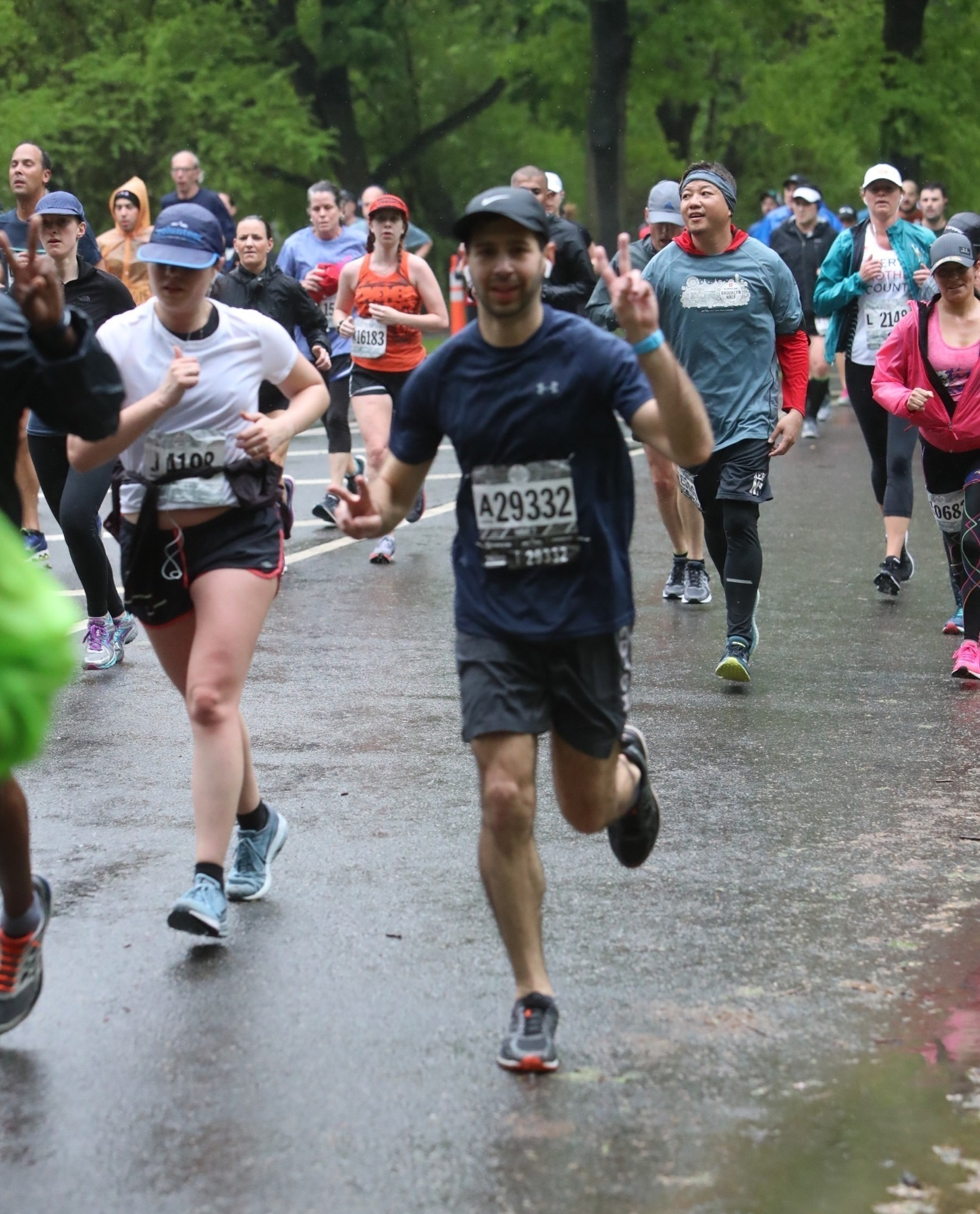 Running the 2018 Brooklyn Half-Marathon